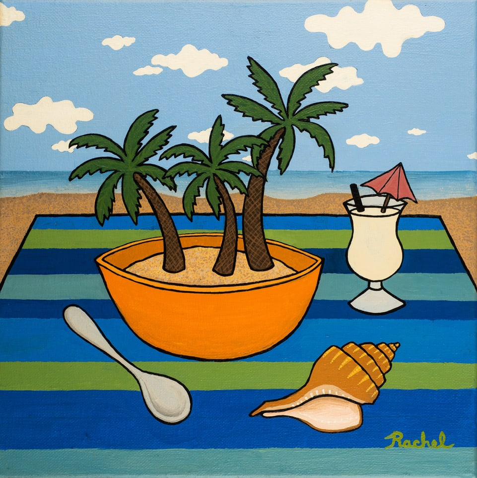 Caribbean Delight by Rachel Perry