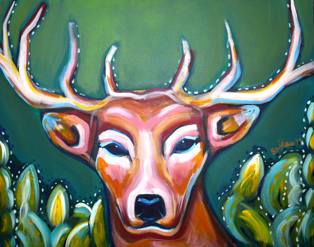 Deer by Emily Spikes