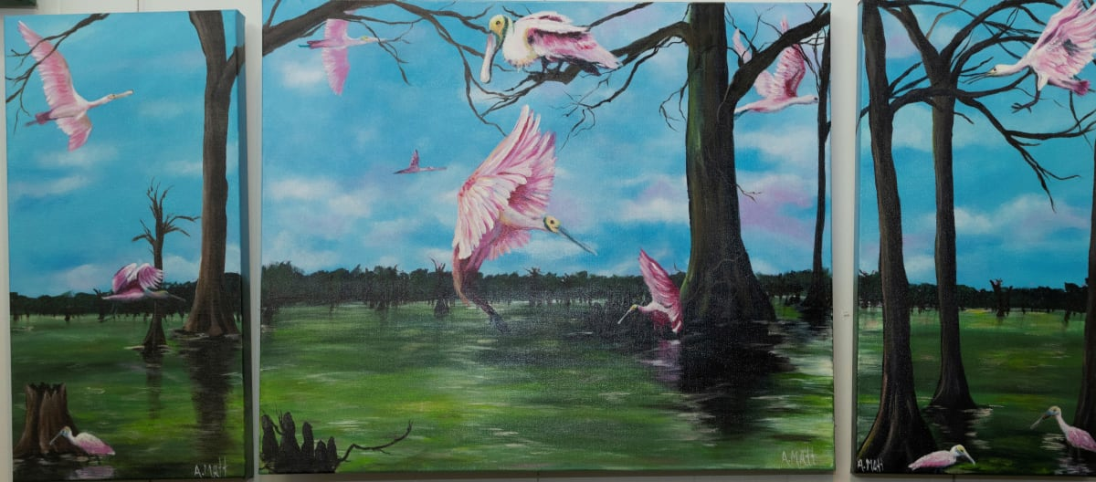 Waiting on Spring by Anne Matt