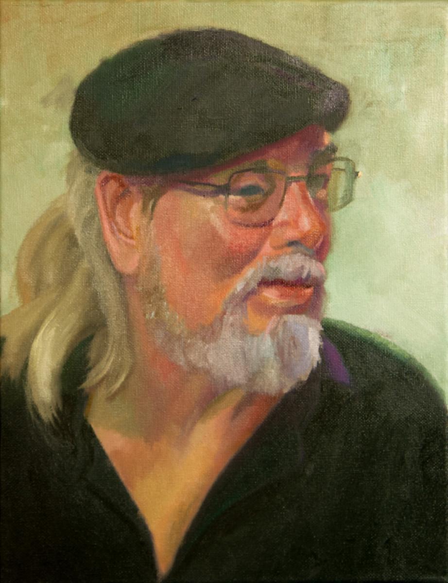 Alla Prima Portrait of Brent Scheneman