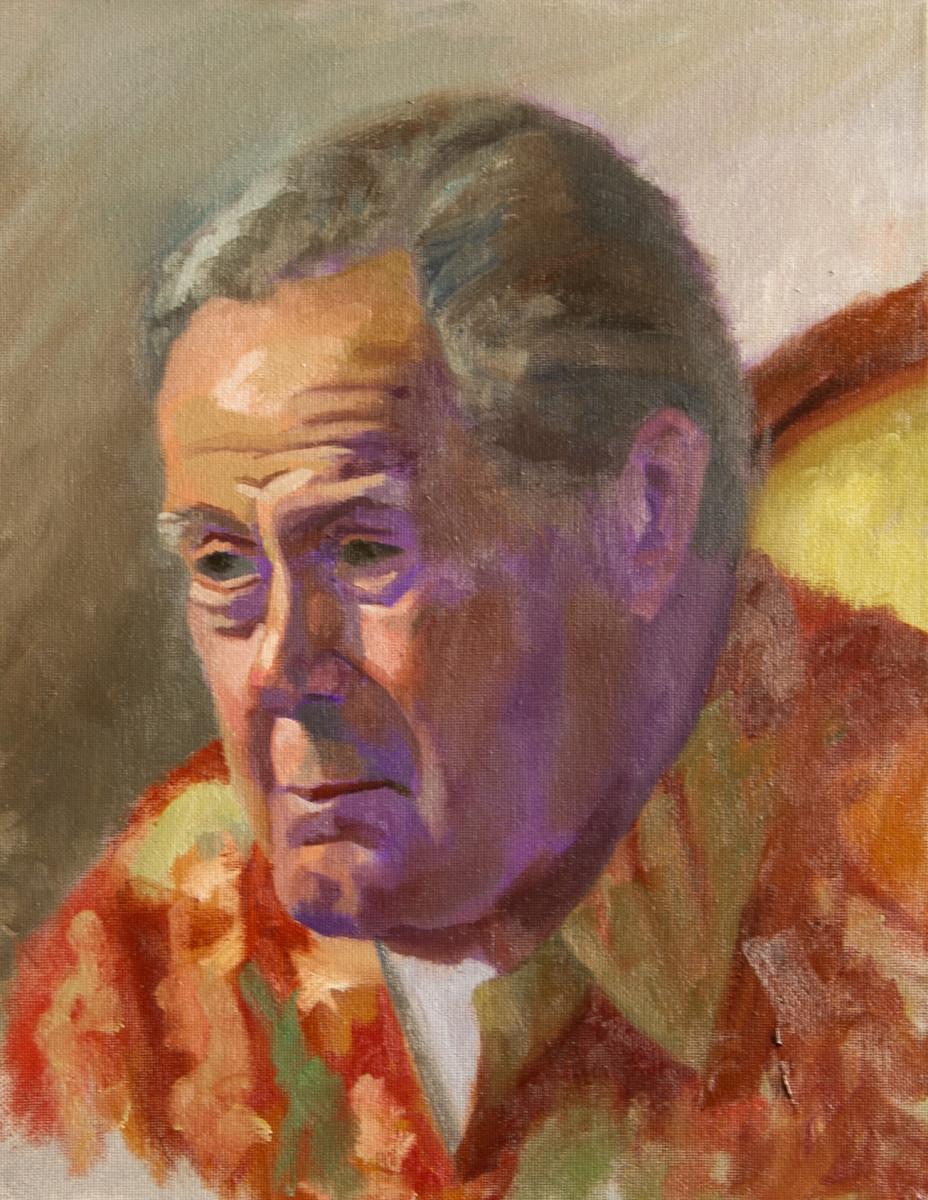 Alla Prima Portrait of Ron Primm