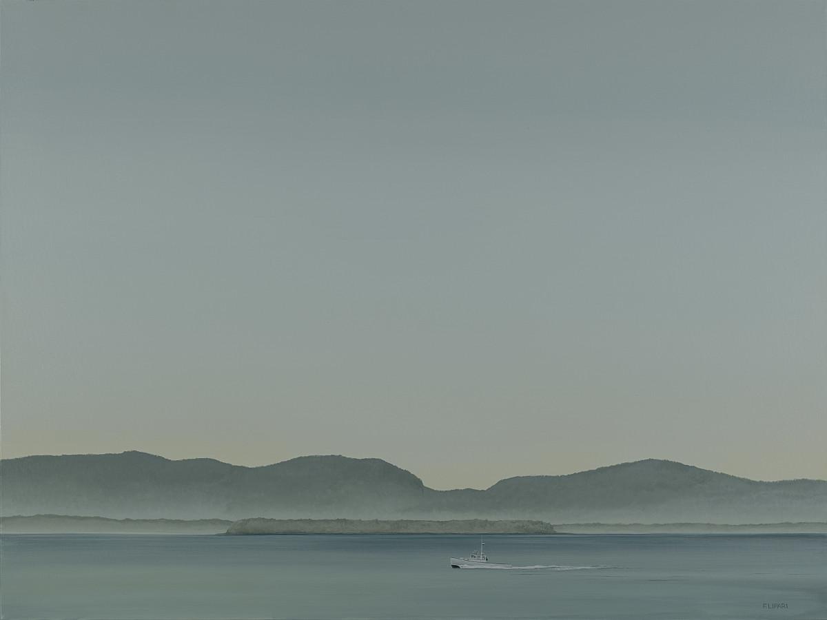Southwest Harbor by F. Lipari
