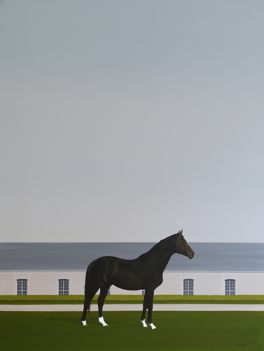 Racing Black by F. Lipari