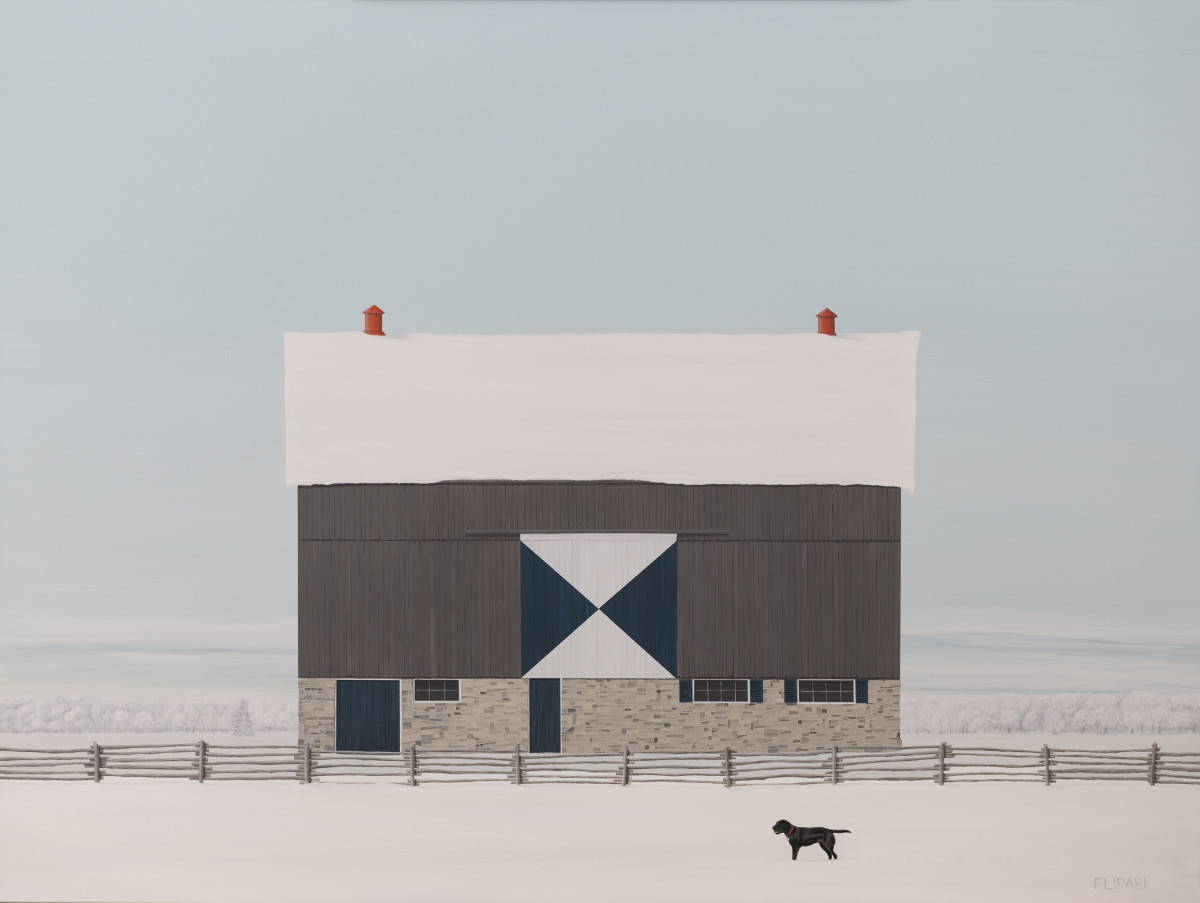 Sunny's Barn by F. Lipari