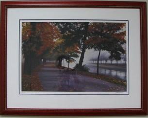 Canal in Autumn Mist II by Jon Friedman