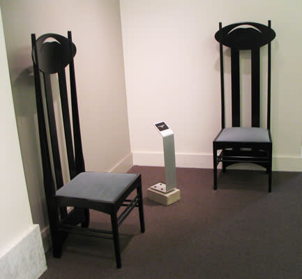 Argyle Chair (1 of 2) by Charles Rennie Mackintosh