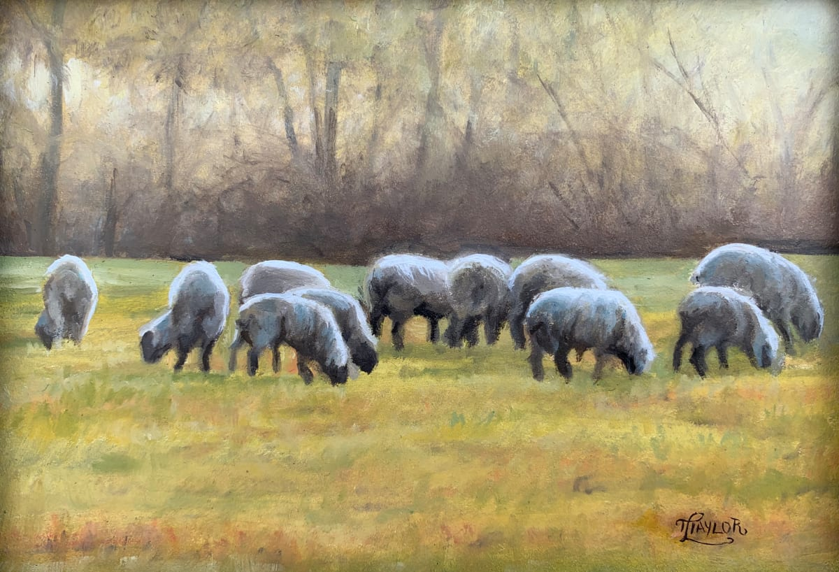 Gathering and Grazing by Tammy Taylor