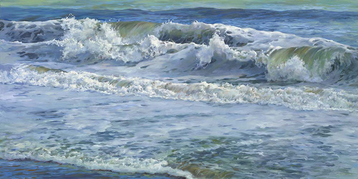 """8th Place – Overall - Laurie Snow Hein - """"Symphony in Blue"""" – www.lauriesnowhein.com by Laurie Snow Hein"""