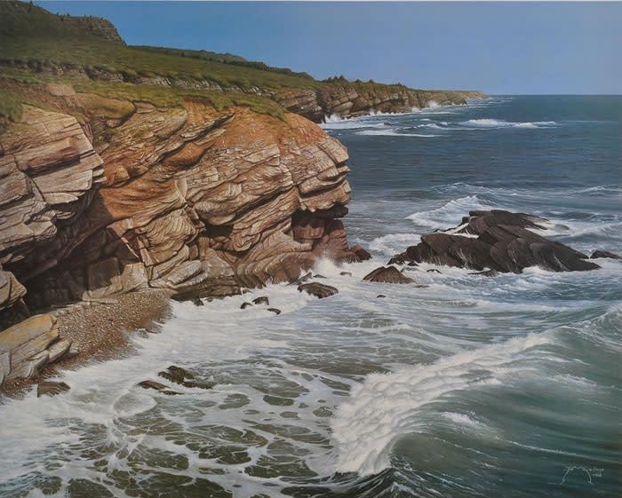 "9th Place – Overall - Brian LaSaga - ""Cape St. George"" – www.brianlasagarealism.com by Brian LaSaga"