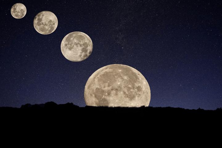 When the Moon Fell