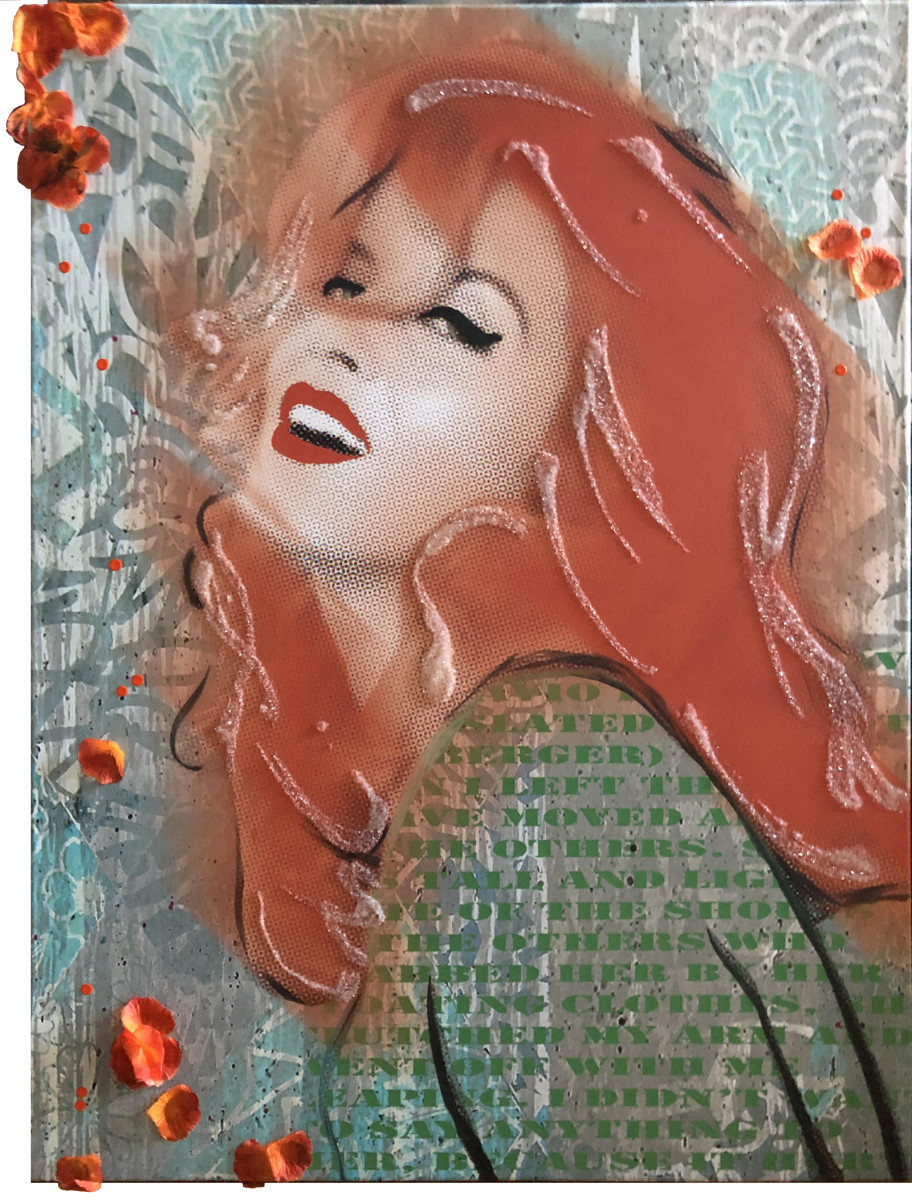 Ann Margret Orange Green