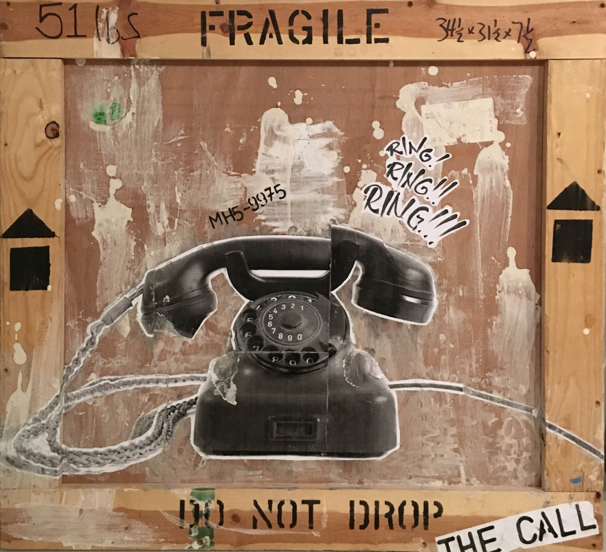 Do not drop the call (Rotary Dial Telephone) on Crate