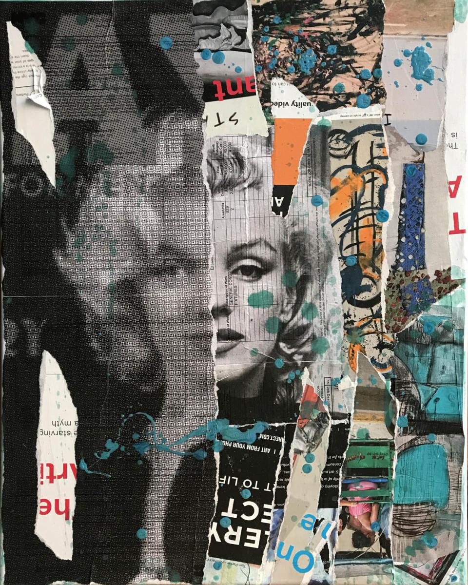 Marilyn Black A1 by Tina Psoinos