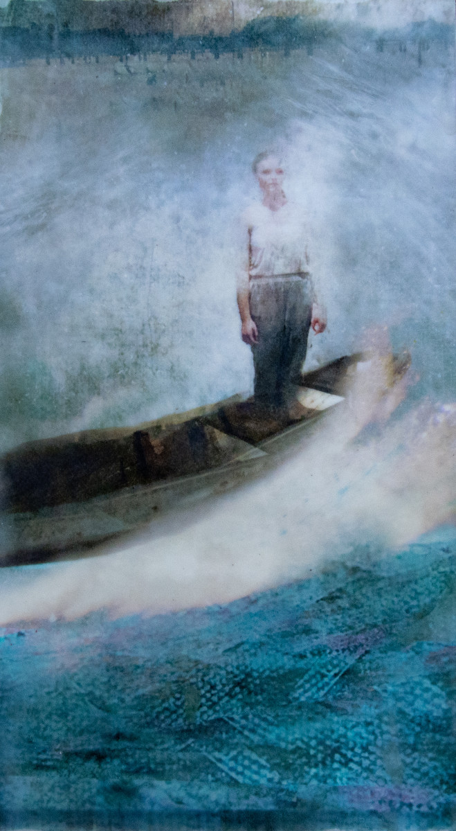 Arriving by Alise Sheehan Art