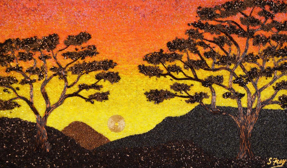 African Sky by Sabrina Frey
