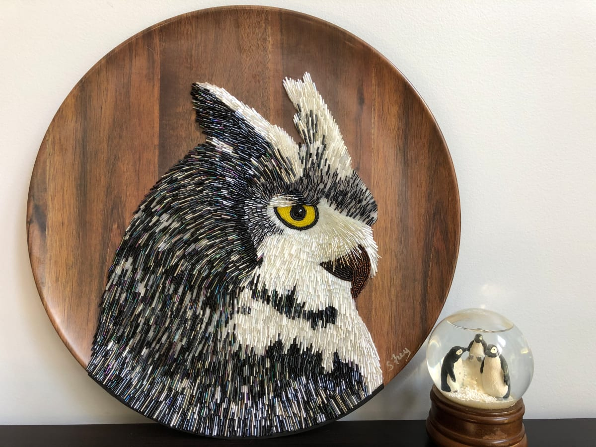 Powell - Great Horned Owl by Sabrina Frey
