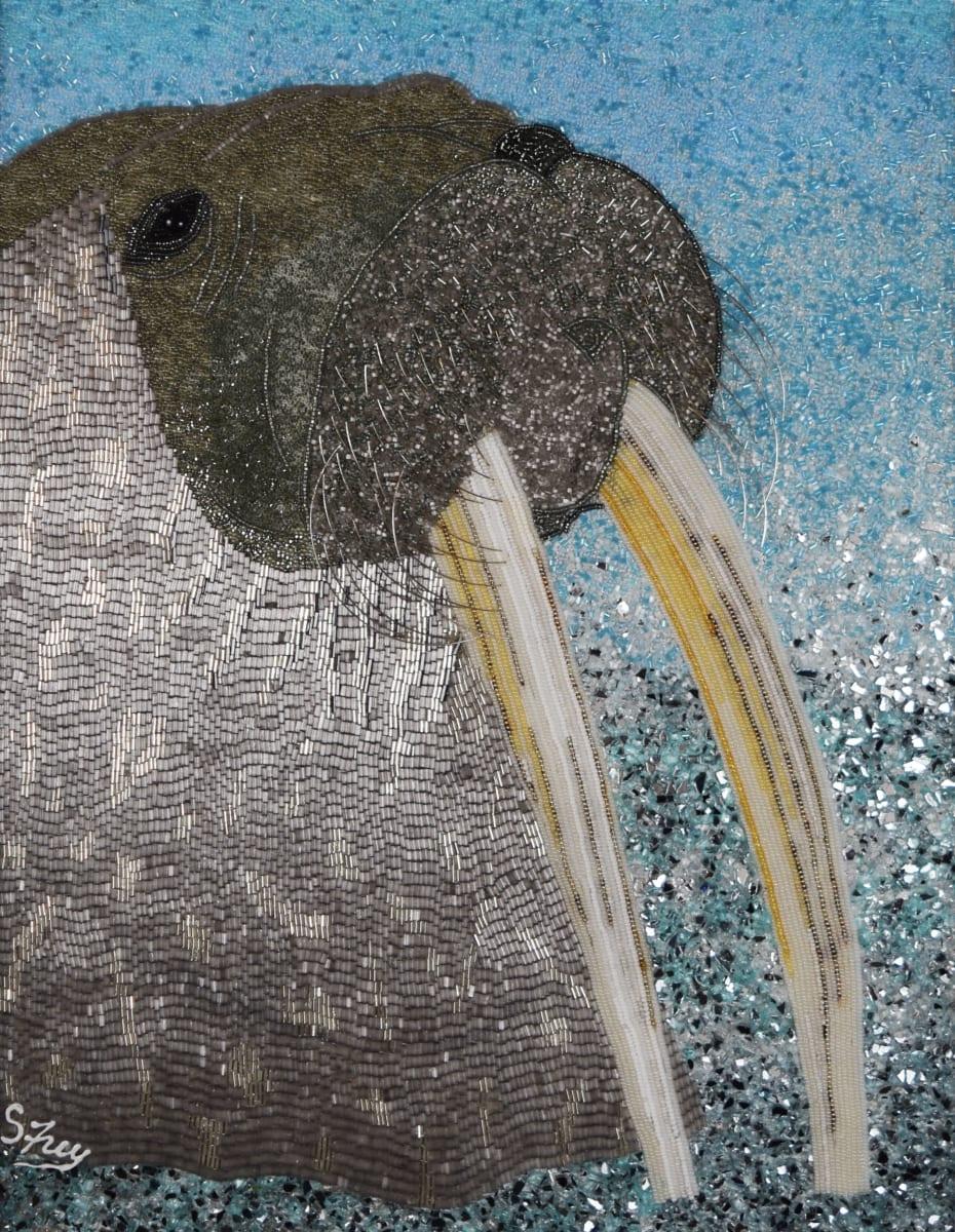 Walrus - Sir Winston by Sabrina Frey