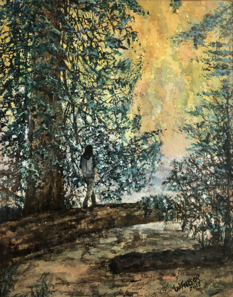 Walk in the Forest - Sold