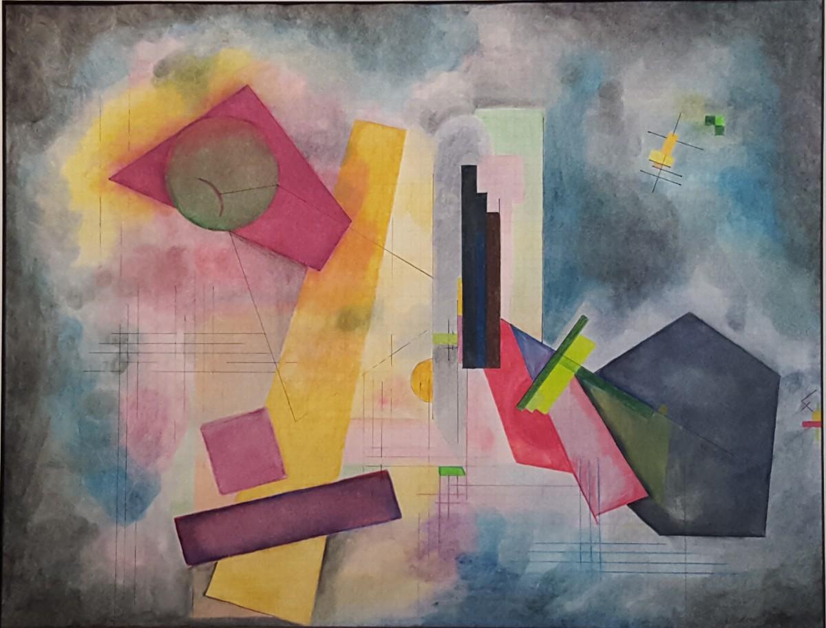 Chasing Kandinsky: Composition #2