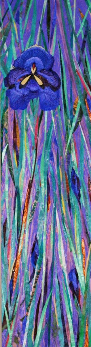 Quiet Iris in the Afternoon (Framed Original)