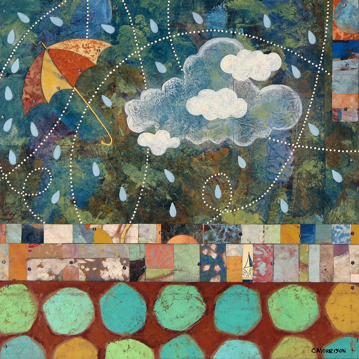 # 70 (Unframed print) by Connie Morrison