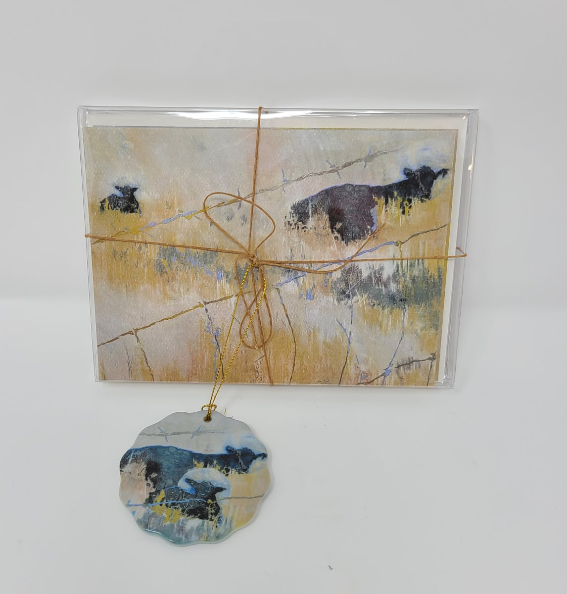 Farm Cards (Pack of 6) (3 sets) by Roberta Condon