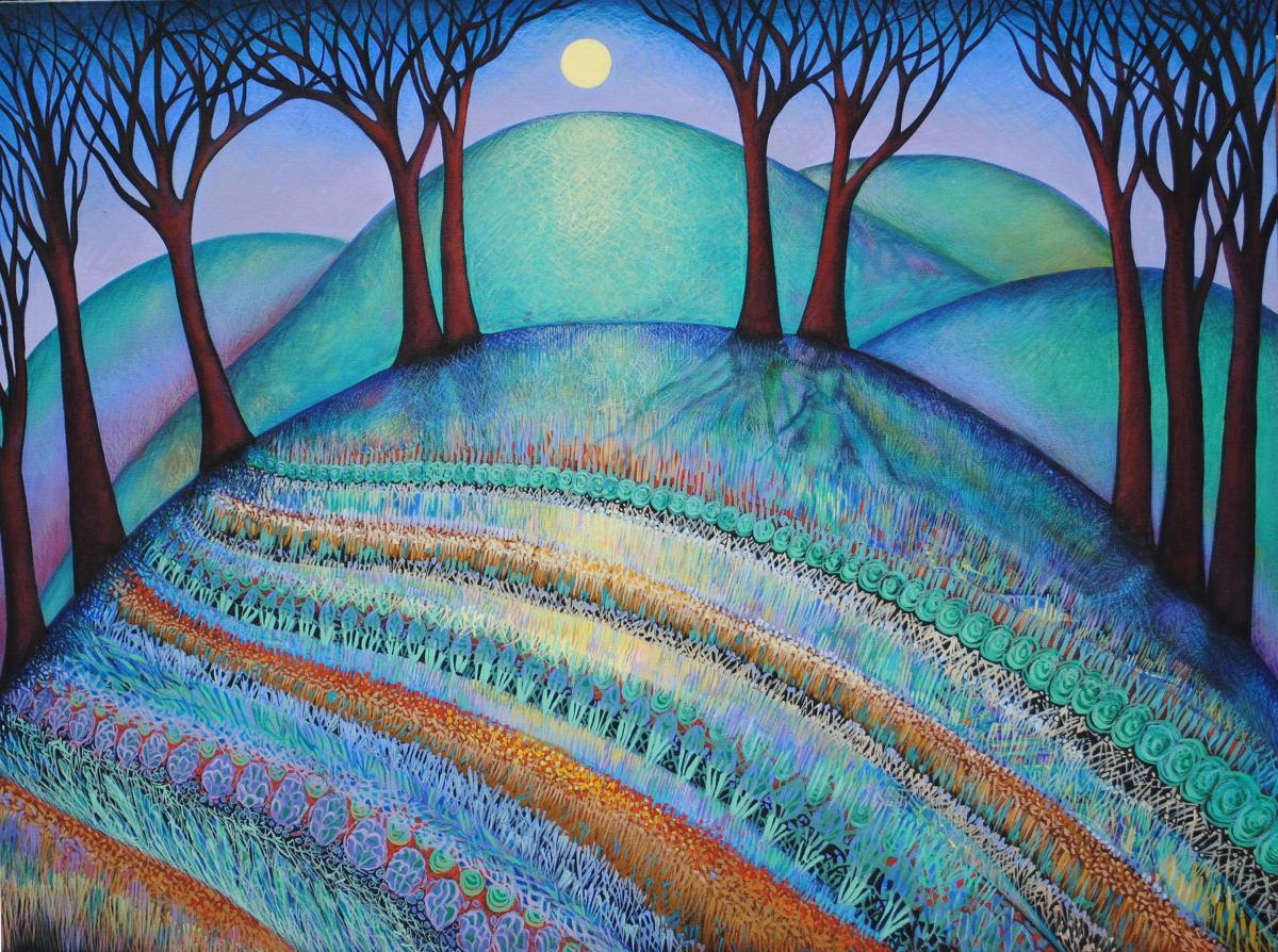 Summer Solstice (Unframed print) by Nancy Giffey