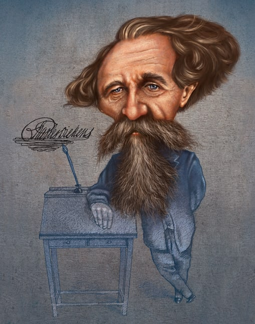Charles Dickens by Rick  Nass