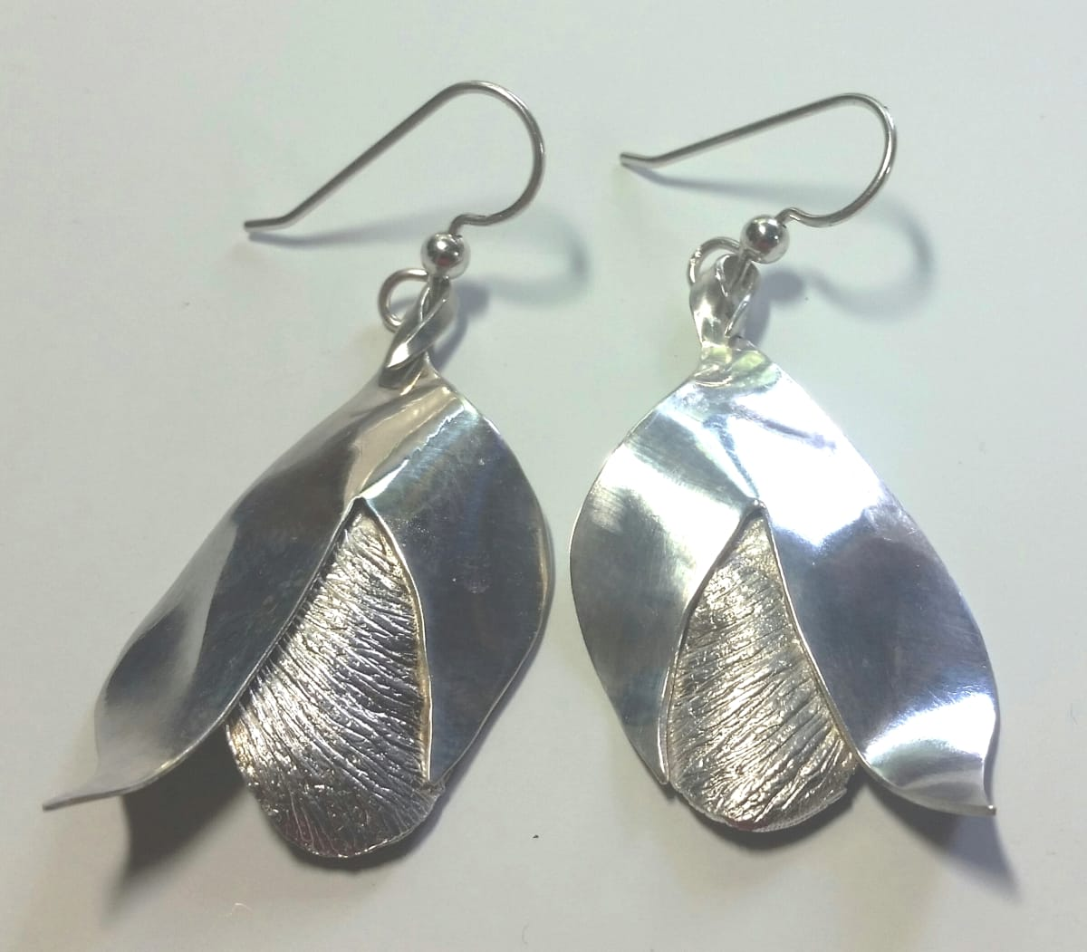 Cracking Open Earrings (small) by Georgia Weithe