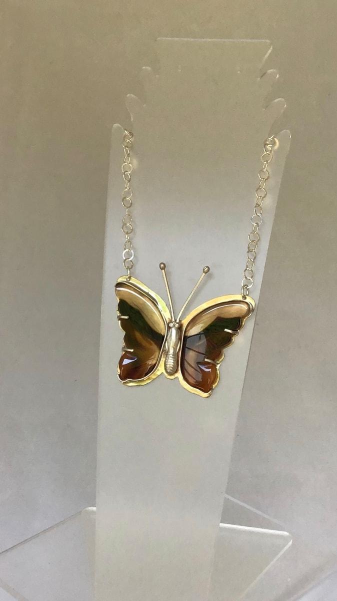 Butterfly Pendant 5 by Judi Werner