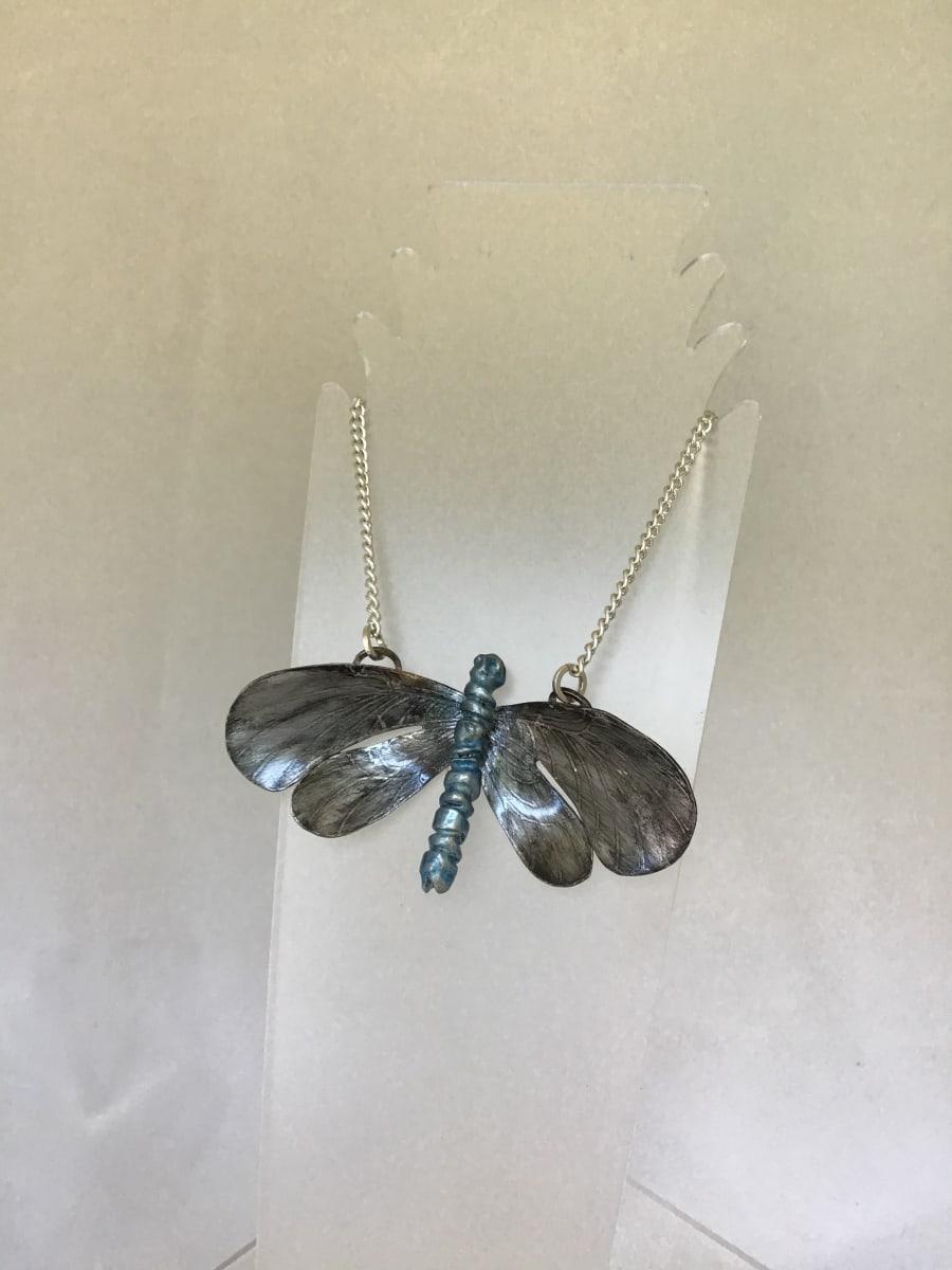 Butterfly Pendant 4 by Judi Werner