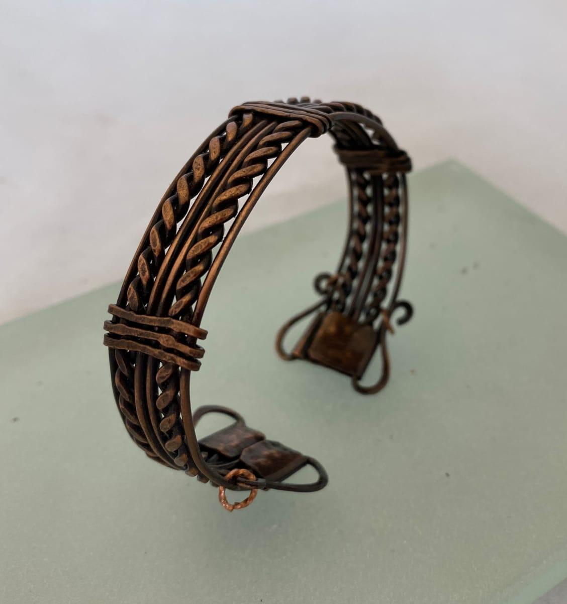 Copper Bracelets by Therese Miskulin