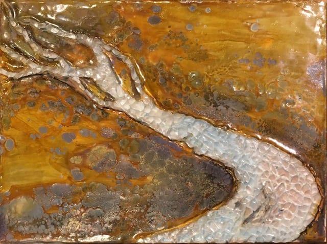 Wilderness (Original) by Luann Roberts Smith