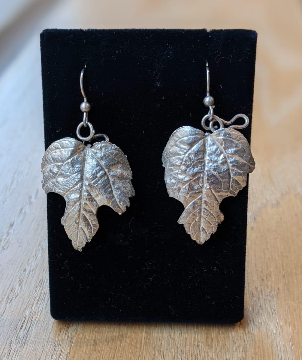 Leaf Earrings by Georgia Weithe