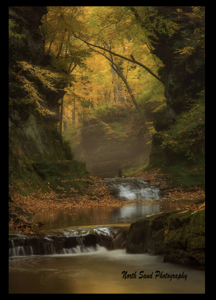 Mystic Morning (Framed Photograph) by Mike Murray