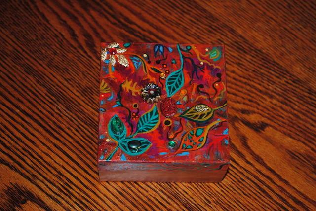 Christmas Treasure Box by Nancy Giffey