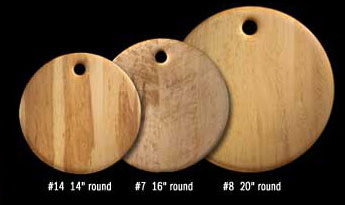 "Breadboard Round ""14"" by Edward Wohl"