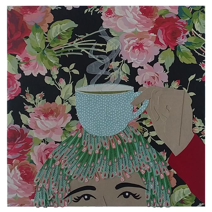 More is More: Teacup by Karen  Timm