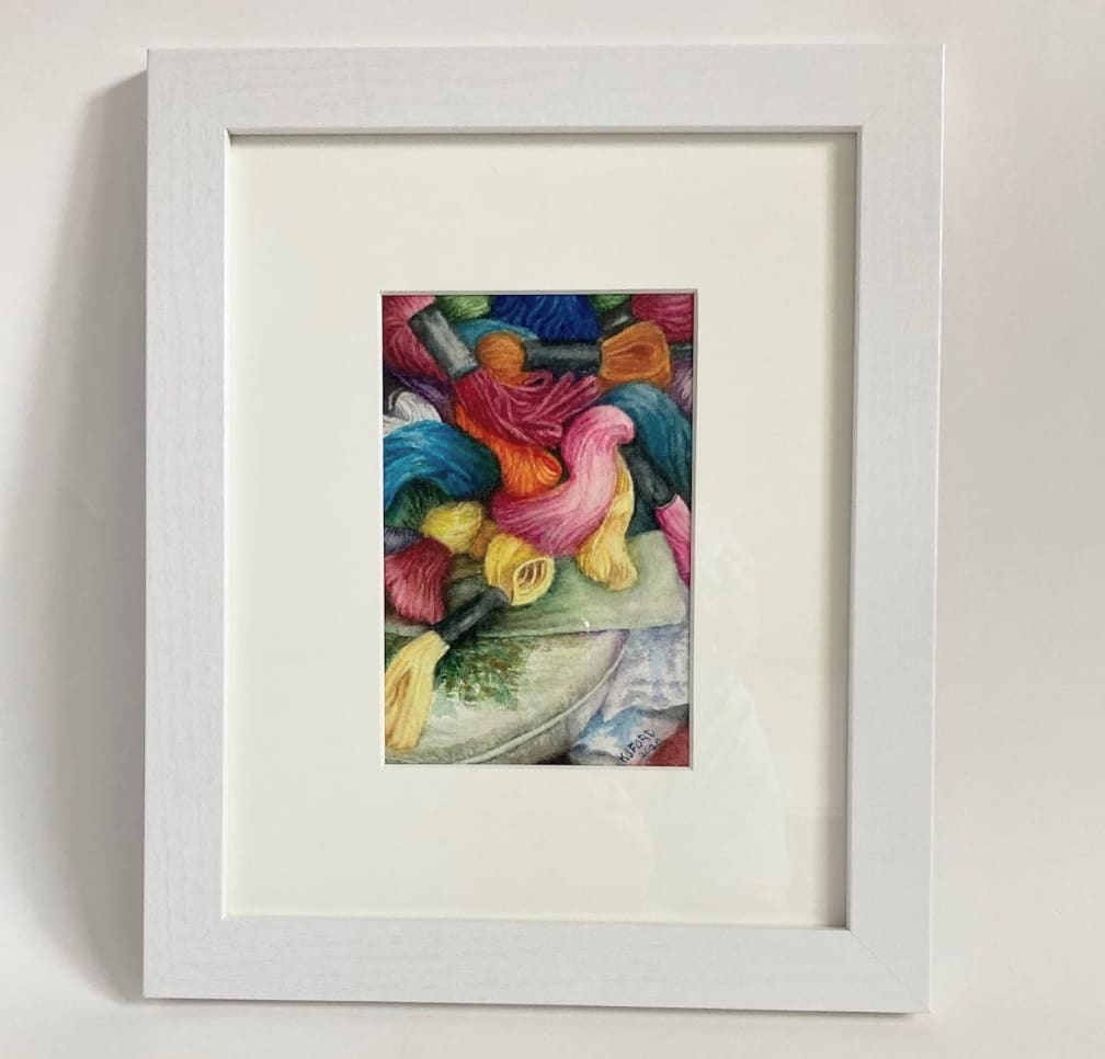 Flossibilities (Framed Original) by Katherine Ford