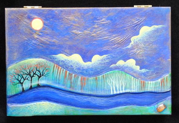 Moonlit Autumn Night