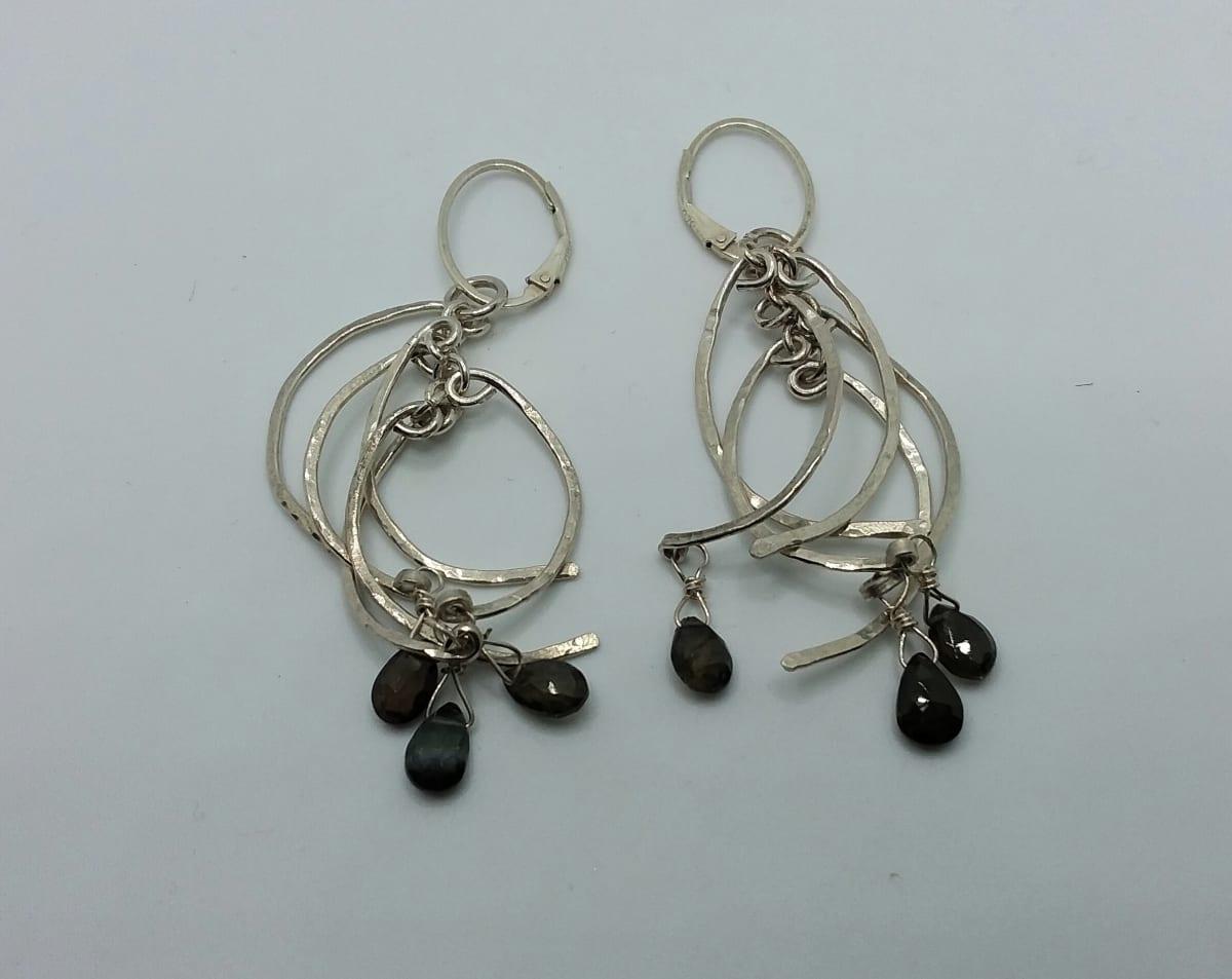 Half Circle Earrings by Judi Werner