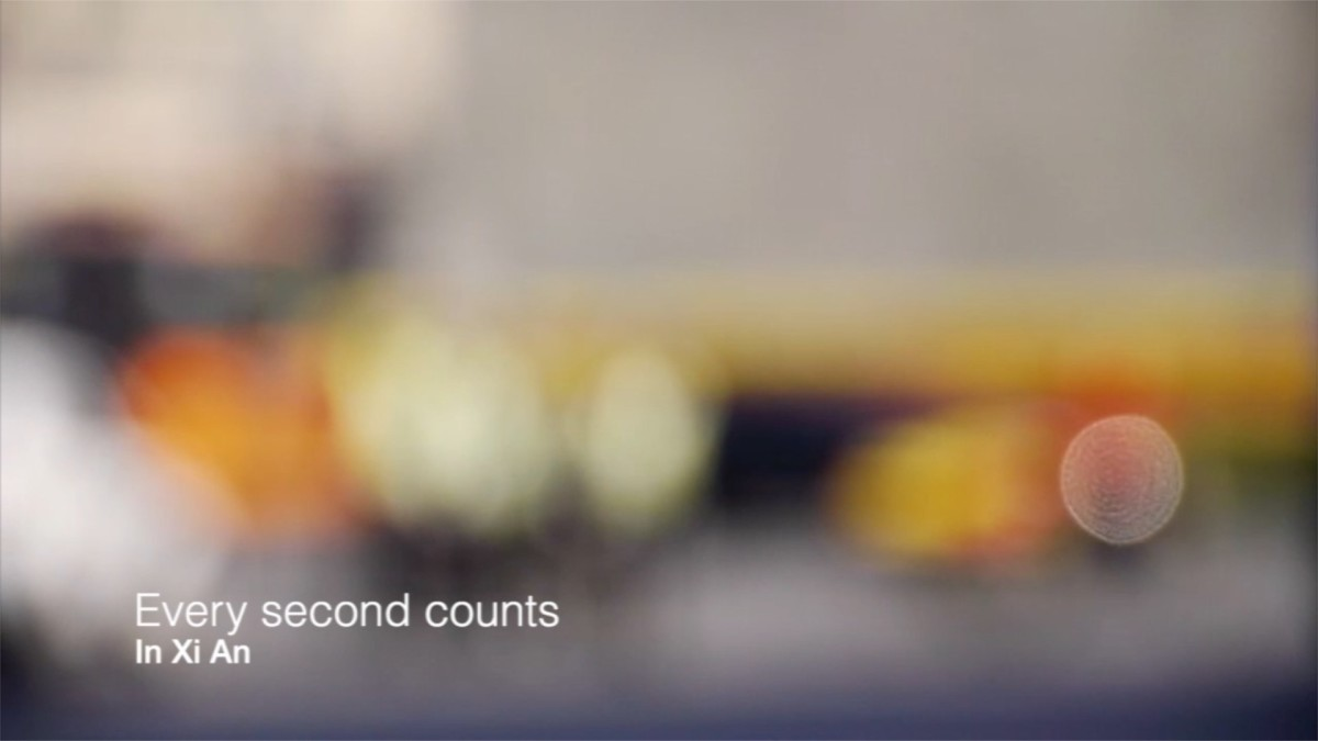 Every second counts in Xi An