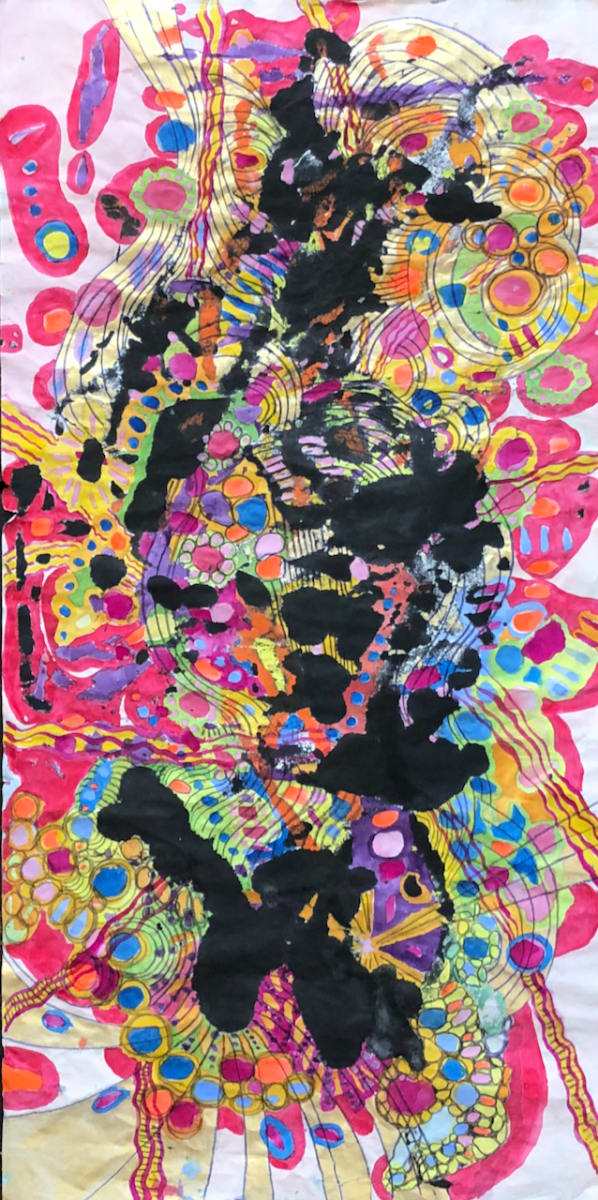 You've gone all psychedelic #2 by CLARE SMITH