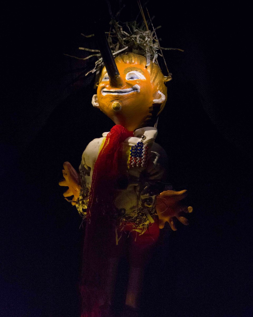 Pinocchio POTUS Puppet Portrait