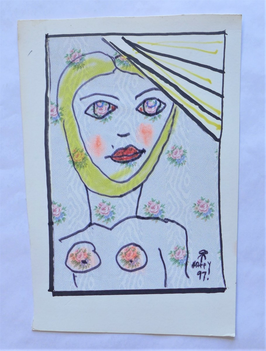 Woman, Sunshine by Rudy Rotter
