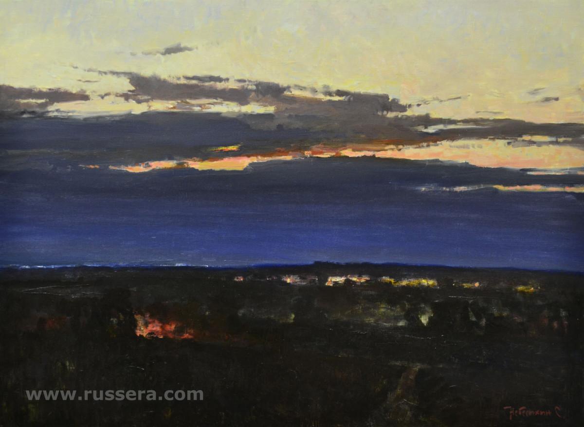 Approach of Night by Sergey Nebesihin