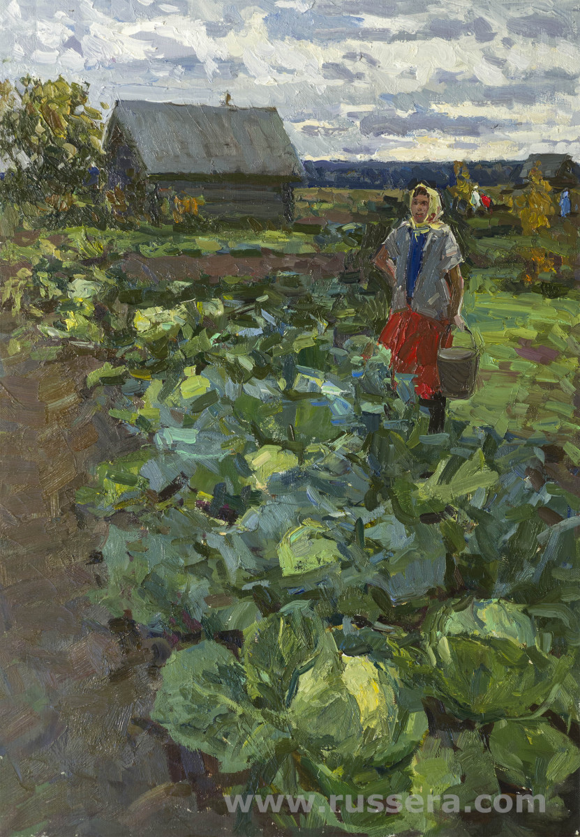 Cabbage by Irina Rybakova