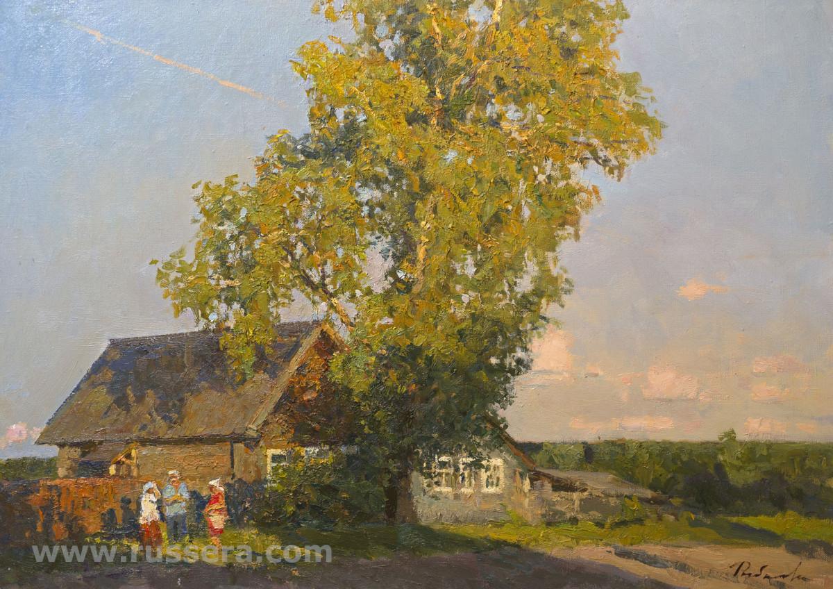 Evening in the Village Size? by Irina Rybakova