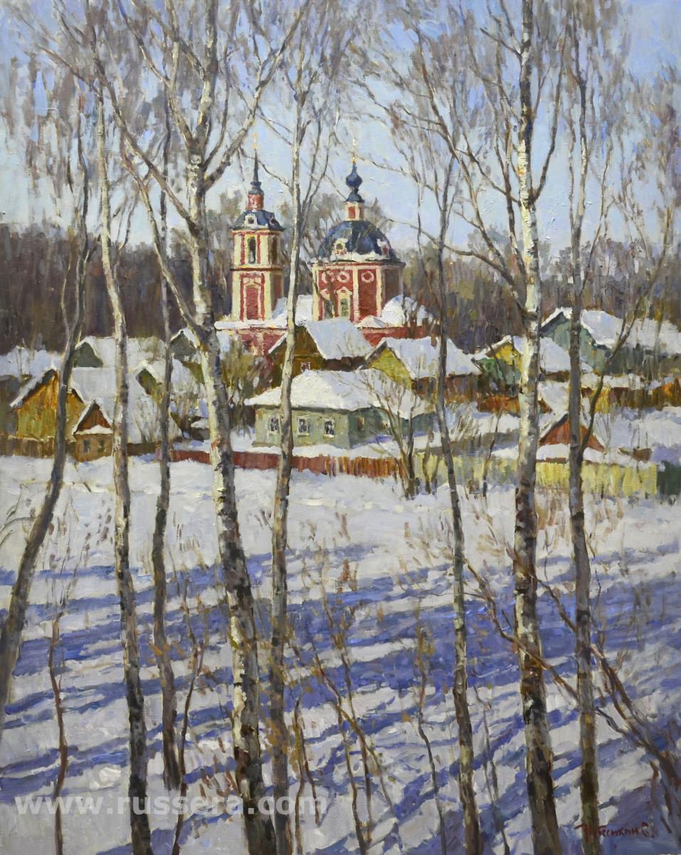 In Pereslavl-Zalessky by Sergey Nebesihin