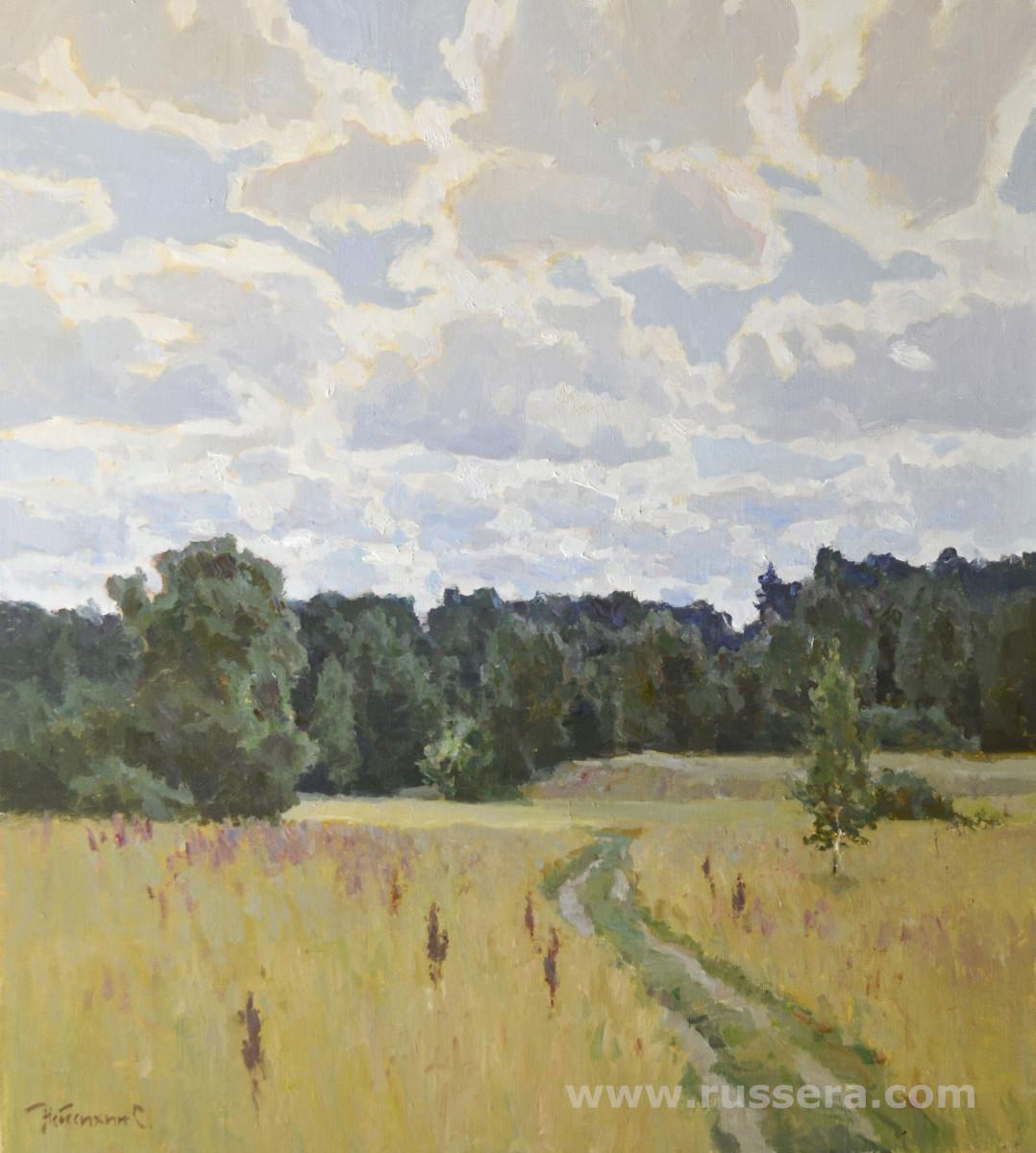 In the Grove by Sergey Nebesihin